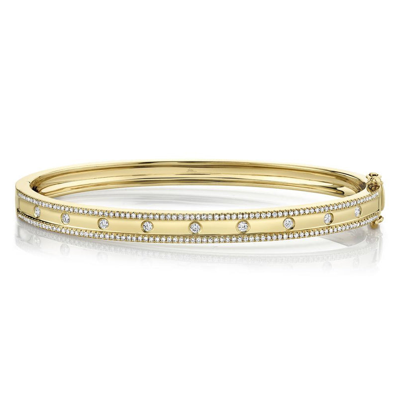 0.62CT DIAMOND BANGLE