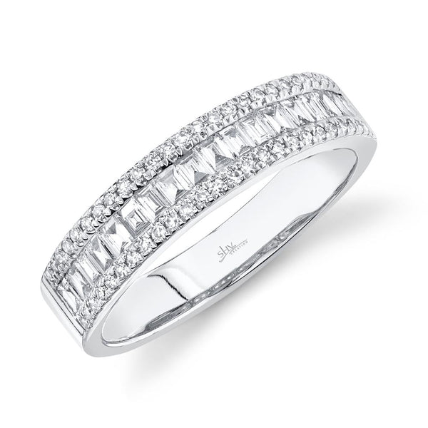 0.55CT DIAMOND BAGUETTE BAND