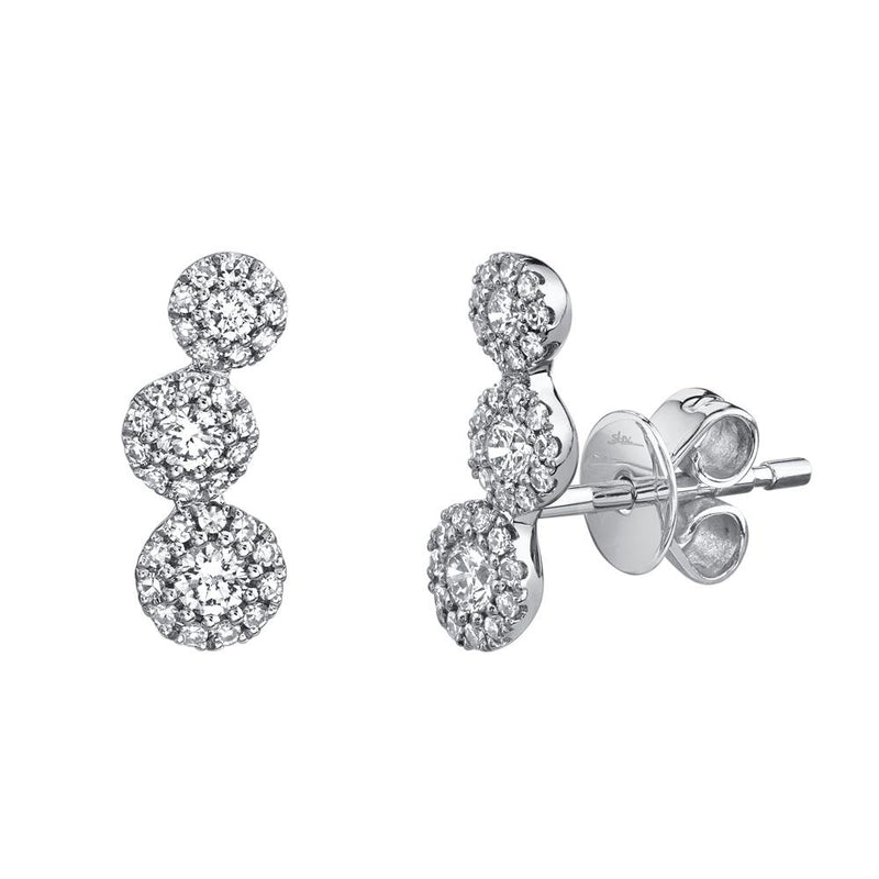 0.36CT DIAMOND STUD EARRING