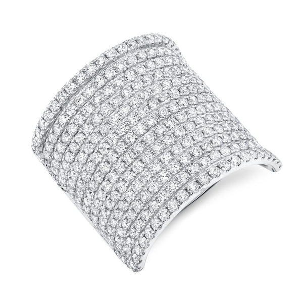 2.86CT DIAMOND PAVE RING