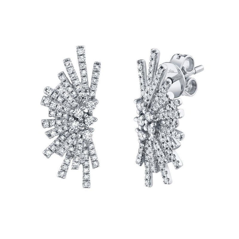 Firework 0.39Ct Diamond Stud Earrings