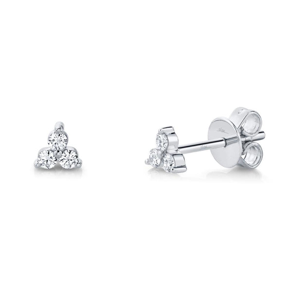 0.15CT DIAMOND STUD EARRING