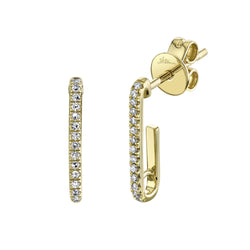 0.08CT DIAMOND EARRING