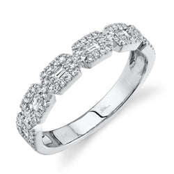 0.46CT DIAMOND BAGUETTE RING