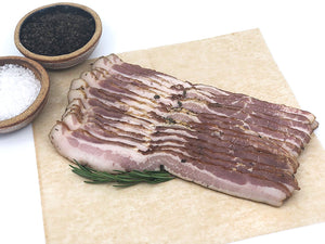 SCMC Uncured Bacon: Salt + Thyme