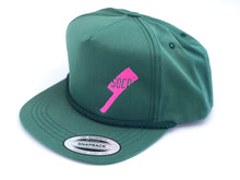 Load image into Gallery viewer, SOCO Golf Style Hat - Green + Pink