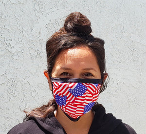 American Flag Cloth Face Mask