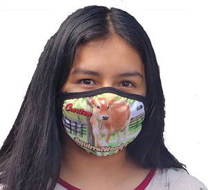 SquirrelWood Equine Sanctuary Cloth Face Mask