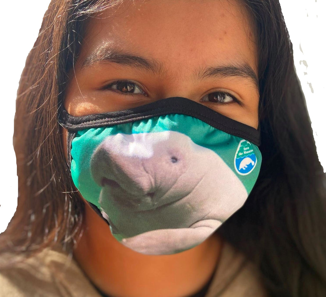Save the Manatee Club Eco-Friendly Cloth Face Mask