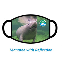 Load image into Gallery viewer, Save the Manatee Club Eco-Friendly Cloth Face Mask