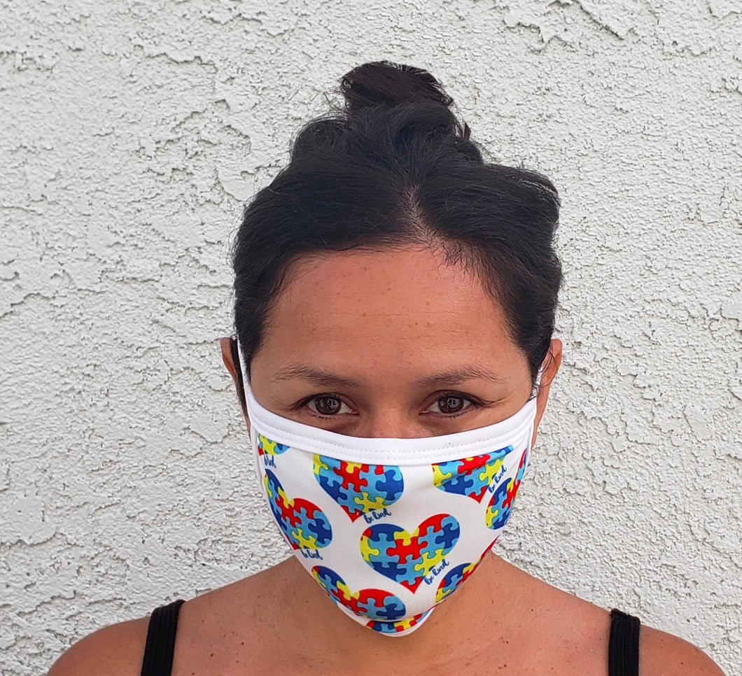 Autism Awareness Cloth Face Mask