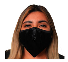 Load image into Gallery viewer, Velvet Holiday Face Mask 3 Layer Fitted