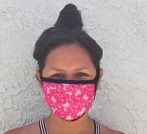 Breast Cancer Awareness Cloth Face Mask