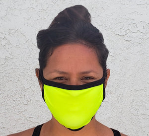 High Visibility Cloth Face Mask