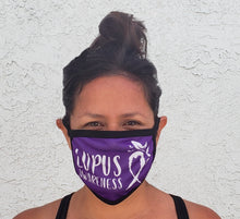 Load image into Gallery viewer, Lupus Awareness Cloth Face Mask