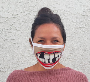 Missing Teeth Cloth Face Mask