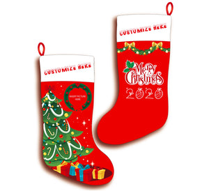 Personalized Christmas Tree Stocking