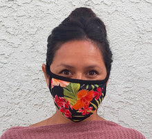 Load image into Gallery viewer, Hawaiian Print Cloth Face Mask