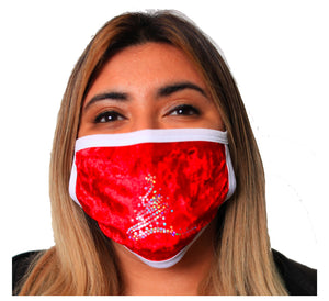 Dazzling Christmas and Kwanzaa Face Mask 2 Layer