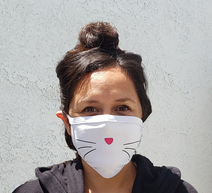 Cat Whiskers Cloth Face Mask
