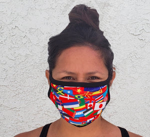 Flags of the World Cloth Face Mask