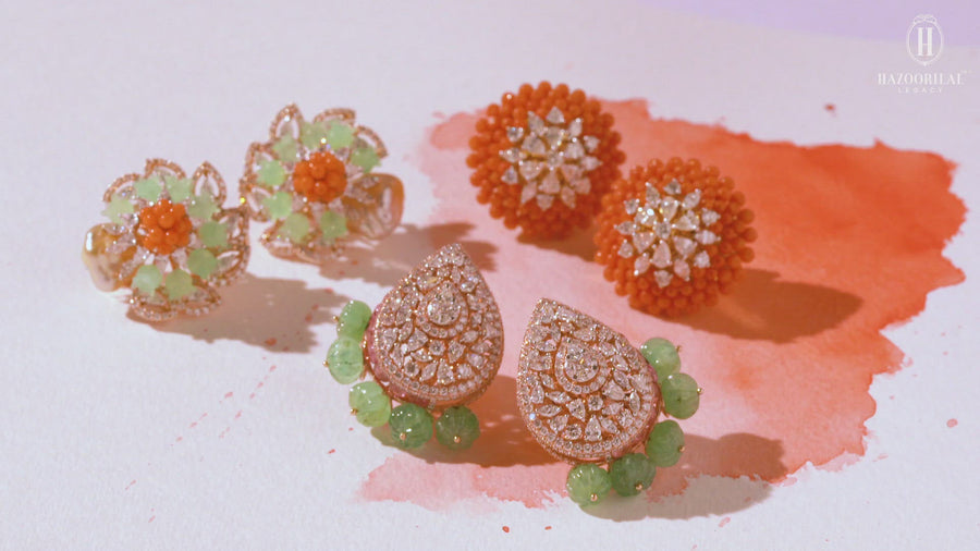 Blume Earrings V