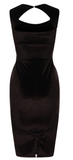 Gianna Velvet Bodycon Black - Sugar Popped  - 2