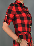 Sale* Flawless Flannel Romper - Sugar Popped  - 4