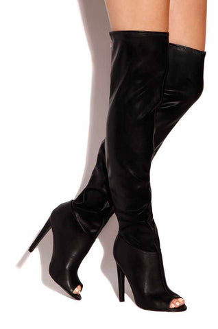 Sale* Sassy Thigh Boots - Sugar Popped  - 1