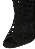 Sale* Fever Lazer Cut Boots - Sugar Popped  - 5