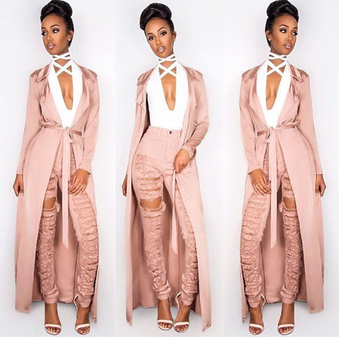Runway Rose Gold Duster - Sugar Popped  - 1