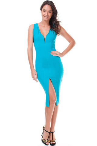Sale* Daring Midi Teal - Sugar Popped  - 1