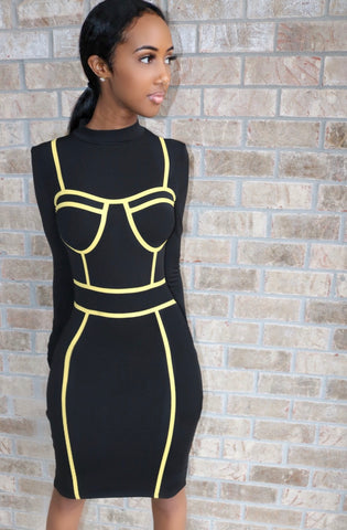 Neon Illusion Bodycon