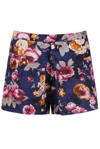 Harland Floral Shorts - Sugar Popped  - 1