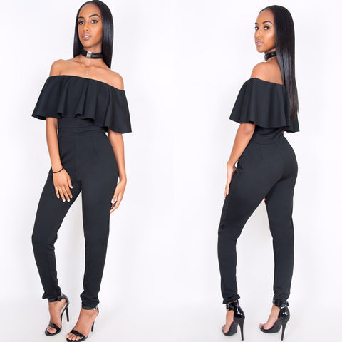 Nyla Jumpsuit Black - Sugar Popped  - 1