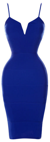 Zaria  Bodycon Royal