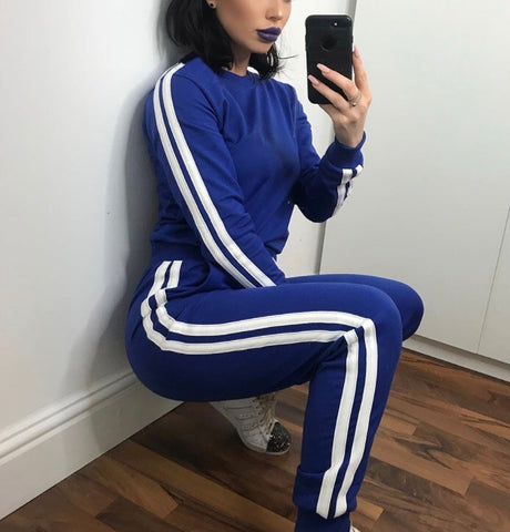 Sporty Chic Tracksuit Royal