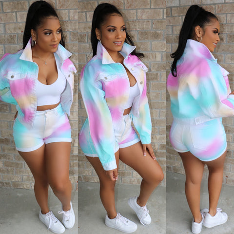 Cotton Candy Denim Set