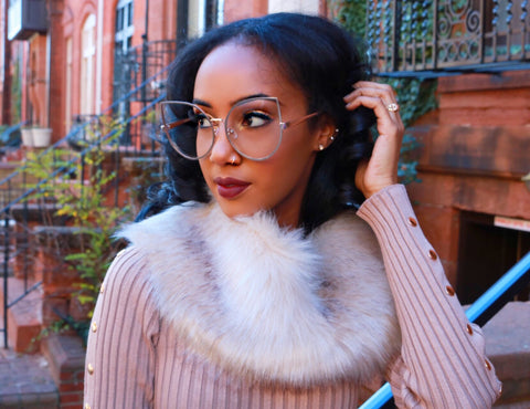 Luxe Faux Fur Collars - Sugar Popped