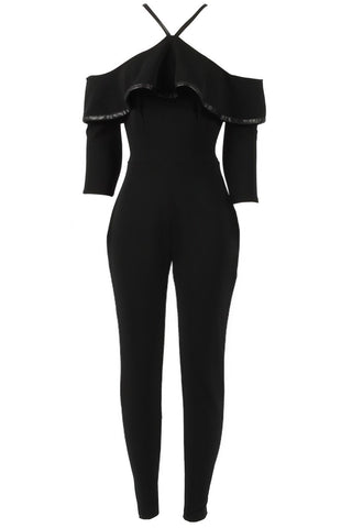 Sale* Panini in Paris Jumpsuit Black