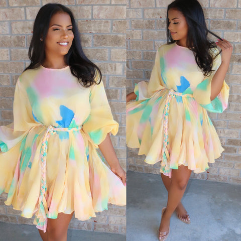 Pretty in Paris Dress Cotton Candy