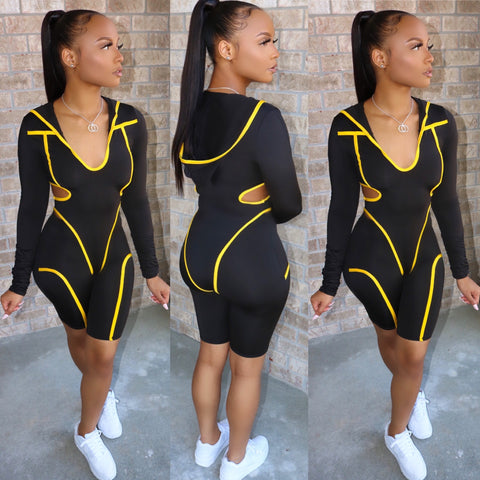 Mega Bodysuit Set Yellow