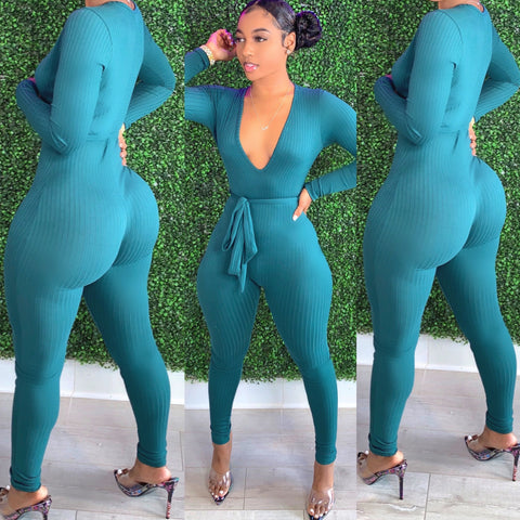 Perfect Fit Jumpsuit Hunter