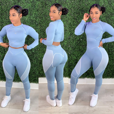 Body Zone Set Baby Blue