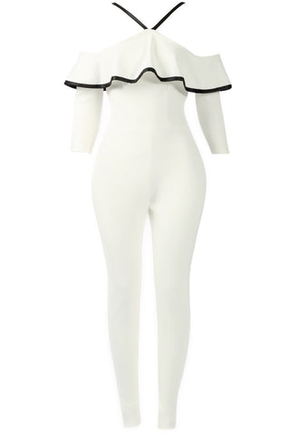 Sale* Panini in Paris Jumpsuit Ivory
