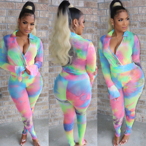 Cotton Candy Bodysuit Set