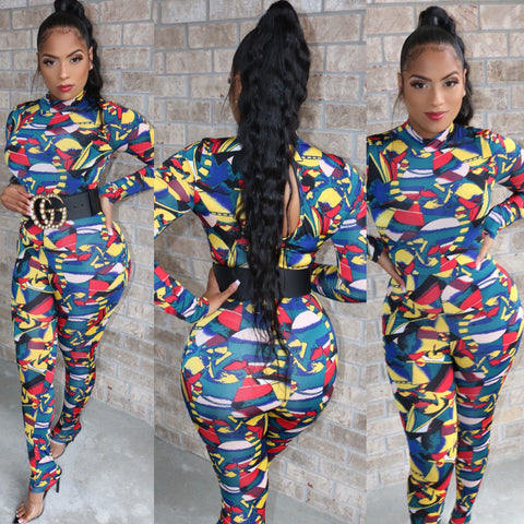 Abstract Art Jumpsuit