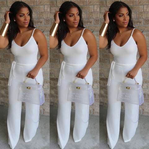 Essence Jumpsuit Ivory