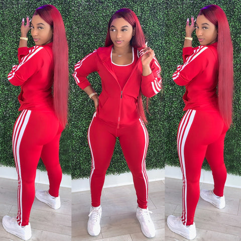 Body Jogger Set Red