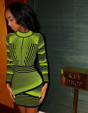 Electric Bandage Dress